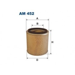 Vzduchový filter Filtron AM452