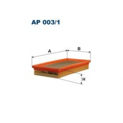 Vzduchový filter Filtron AP003/1