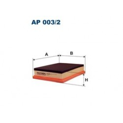Vzduchový filter Filtron AP003/2