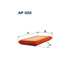 Vzduchový filter Filtron AP025