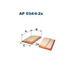 Vzduchový filter Filtron AP034/4-2X