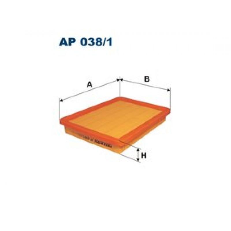 Vzduchový filter Filtron AP038/1