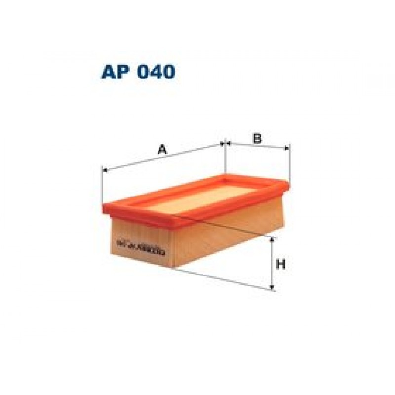 Vzduchový filter Filtron AP040