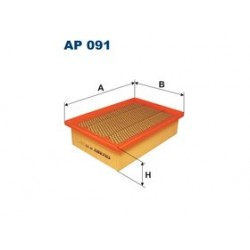 Vzduchový filter Filtron AP091