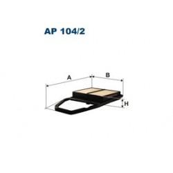 Vzduchový filter Filtron AP104/2