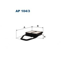 Vzduchový filter Filtron AP104/3
