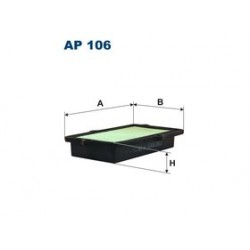Vzduchový filter Filtron AP106