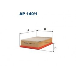 Vzduchový filter Filtron AP140/1