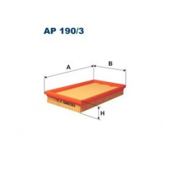 Vzduchový filter Filtron AP190/3