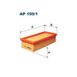 Vzduchový filter Filtron AP195/1