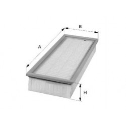 Vzduchový filter Filtron AP195/2
