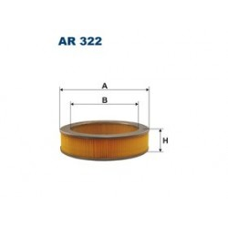 Vzduchový filter Filtron AR322