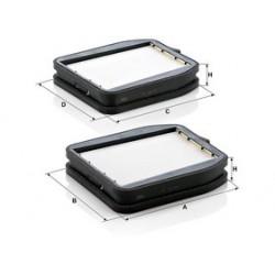 Kabinový filter Mann Filter CU 18 000-2