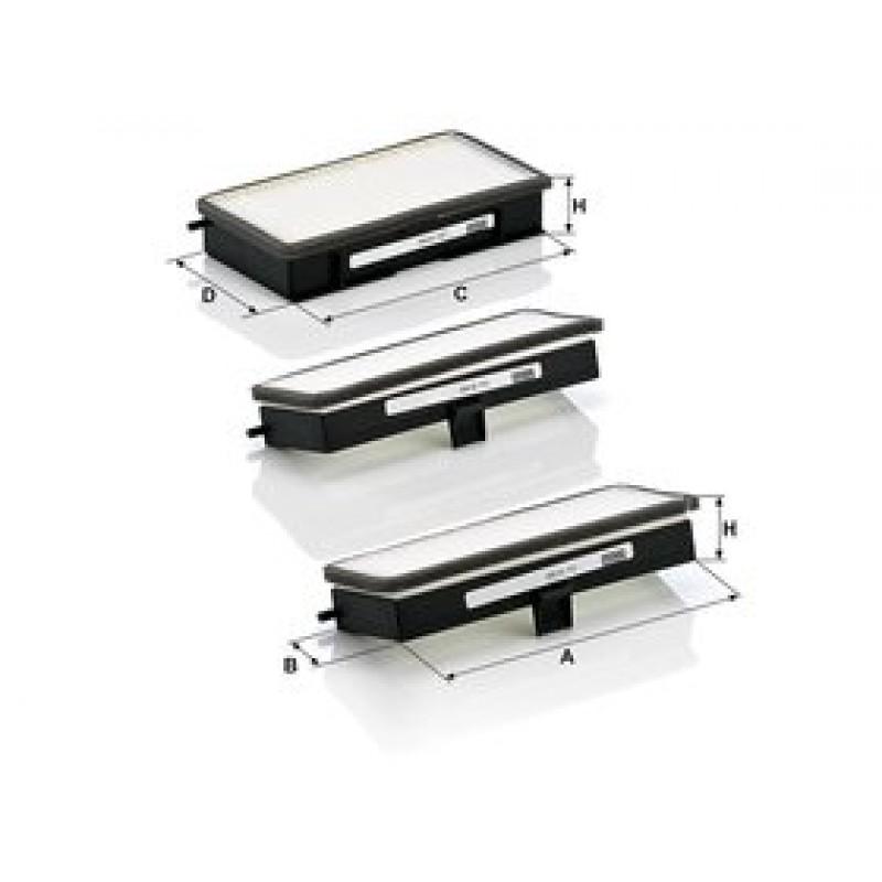 Kabinový filter Mann Filter CU 19 000-3