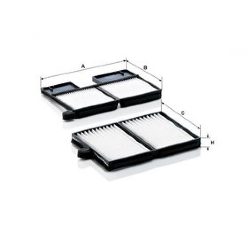 Kabinový filter Mann Filter CU 21 001-2