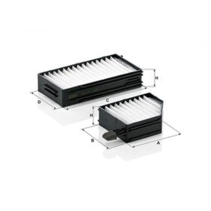 Kabinový filter Mann Filter CU 21 002-2