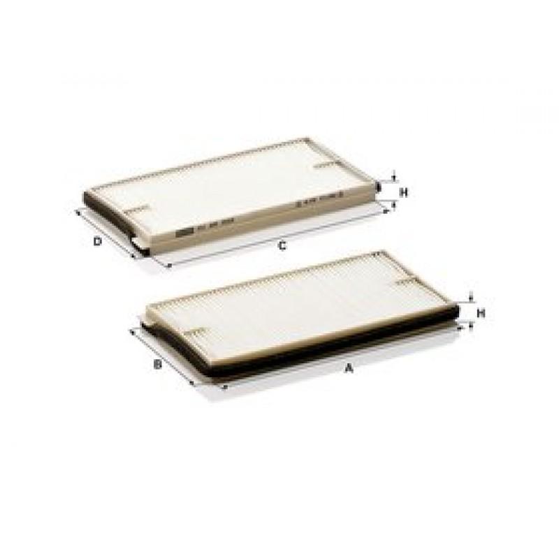 Kabinový filter Mann Filter CU 22 002-2