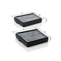 Kabinový filter Mann Filter CUK 20 000-2 adsotop