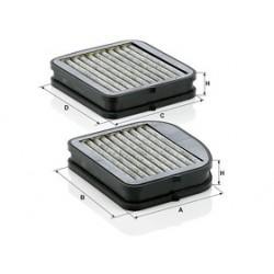 Kabinový filter Mann Filter CUK 22 000-2 adsotop