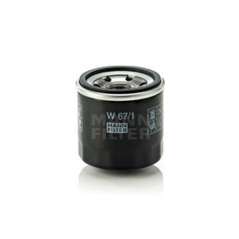 Olejový filter Mann Filter W 67/1