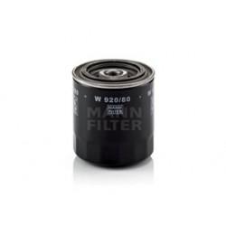 Olejový filter Mann Filter W 920/80