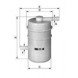 Palivový filter Mann Filter WK 45