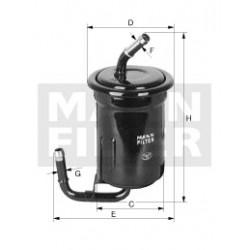 Palivový filter Mann Filter WK 614/13