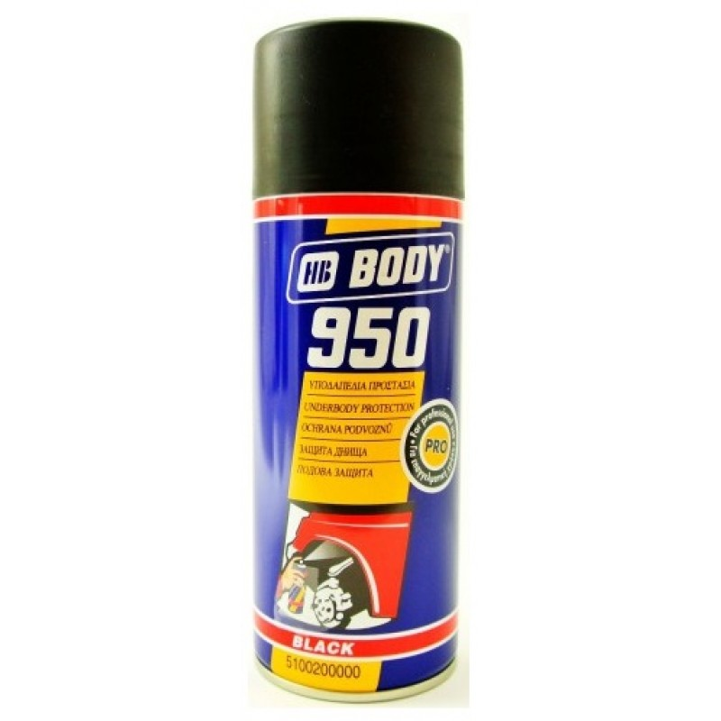 HB BODY 950 spray čierny 400ml