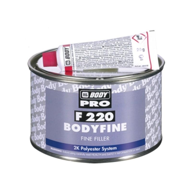 HB BODY tmel finne - jemný 250g