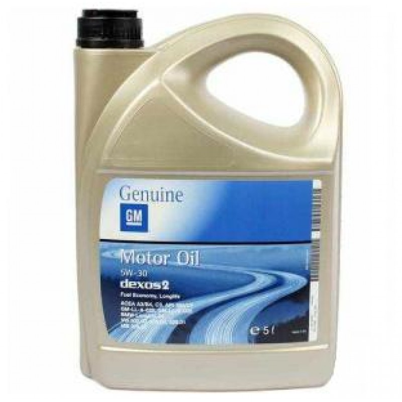GM MOTOR OIL DEXOS 2 5W-30 5L