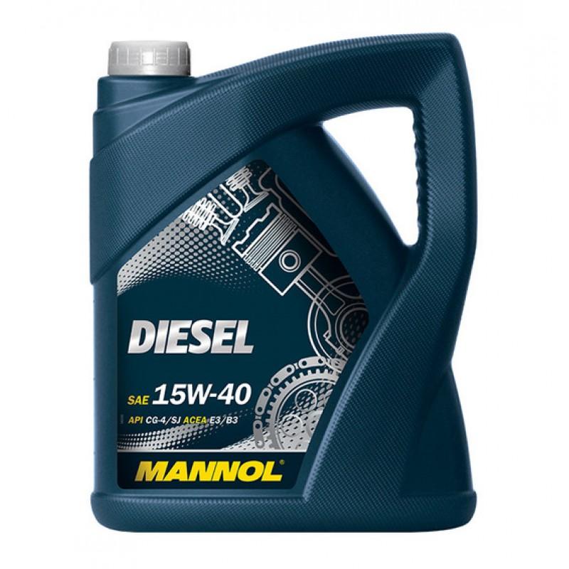 MANNOL Diesel 15W- 40 5L