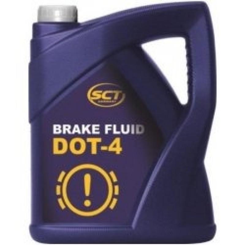 SCT - Brzdová kvapalina DOT4 5L