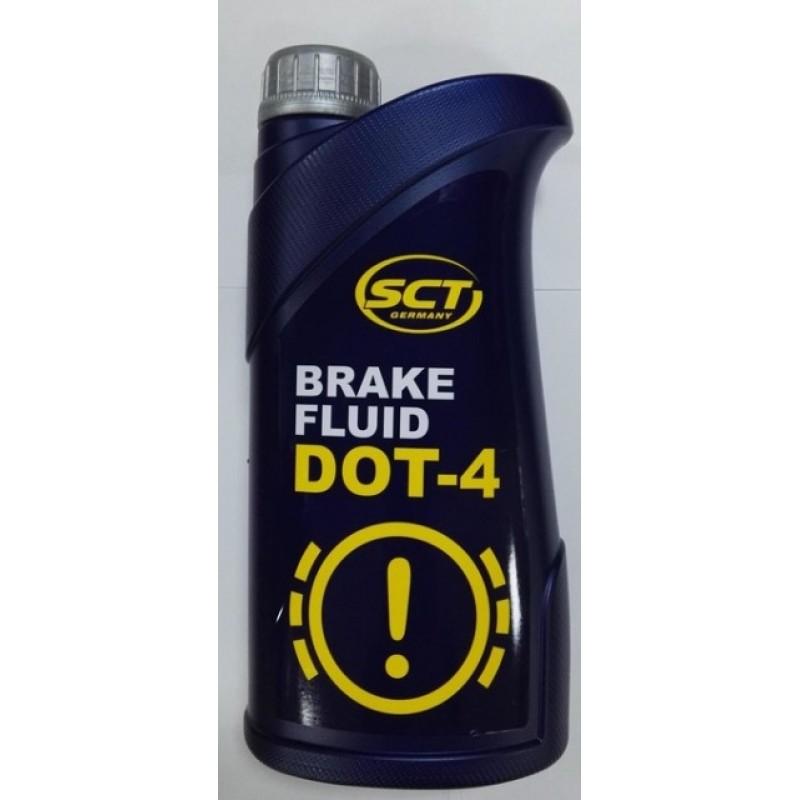 SCT - Brzdová kvapalina DOT4 1L