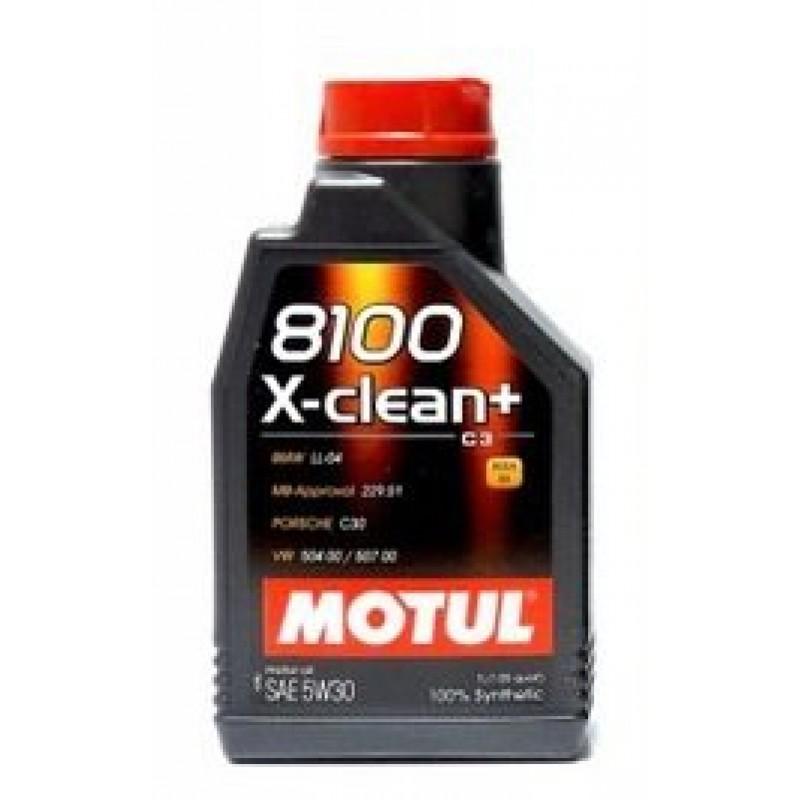 Motul 8100 X-Clean+ C3 5W-30 1l