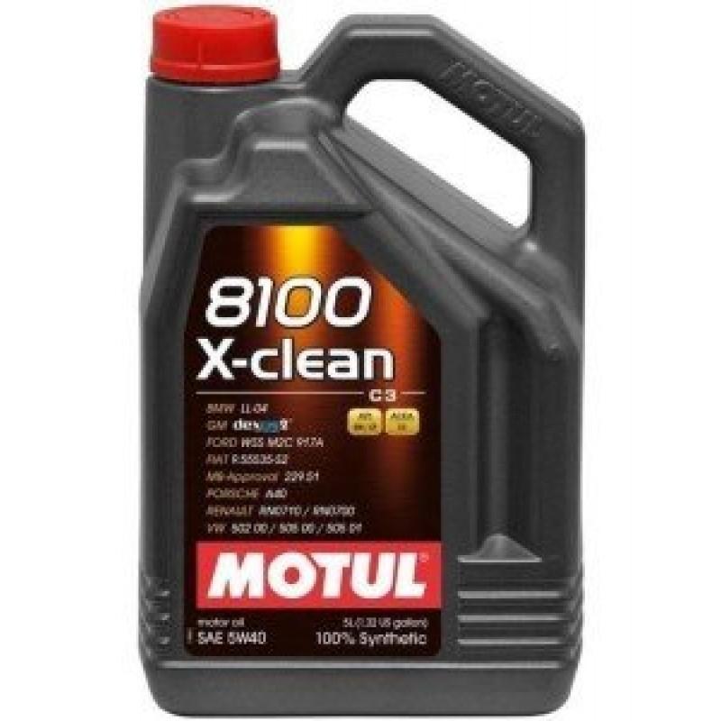 Motul 8100 X-Clean C3 5W-40 5l