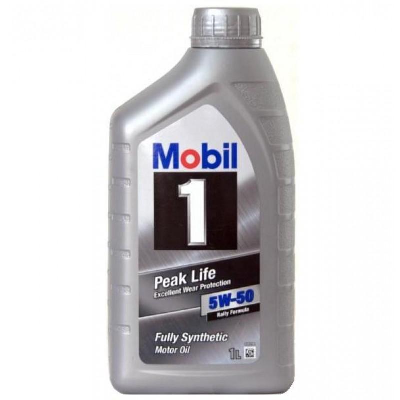 MOBIL 1 PEAK LIFE 5W-50 1L