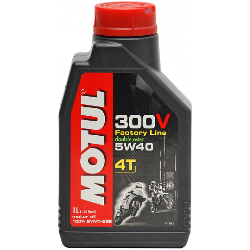 MOTUL 300V FACTORY LINE ROAD RACING 4T 15W-50 1L