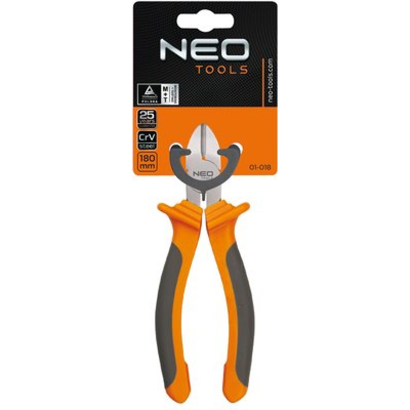 NEO 01-018 Kliešte štipacie bočné 180 mm