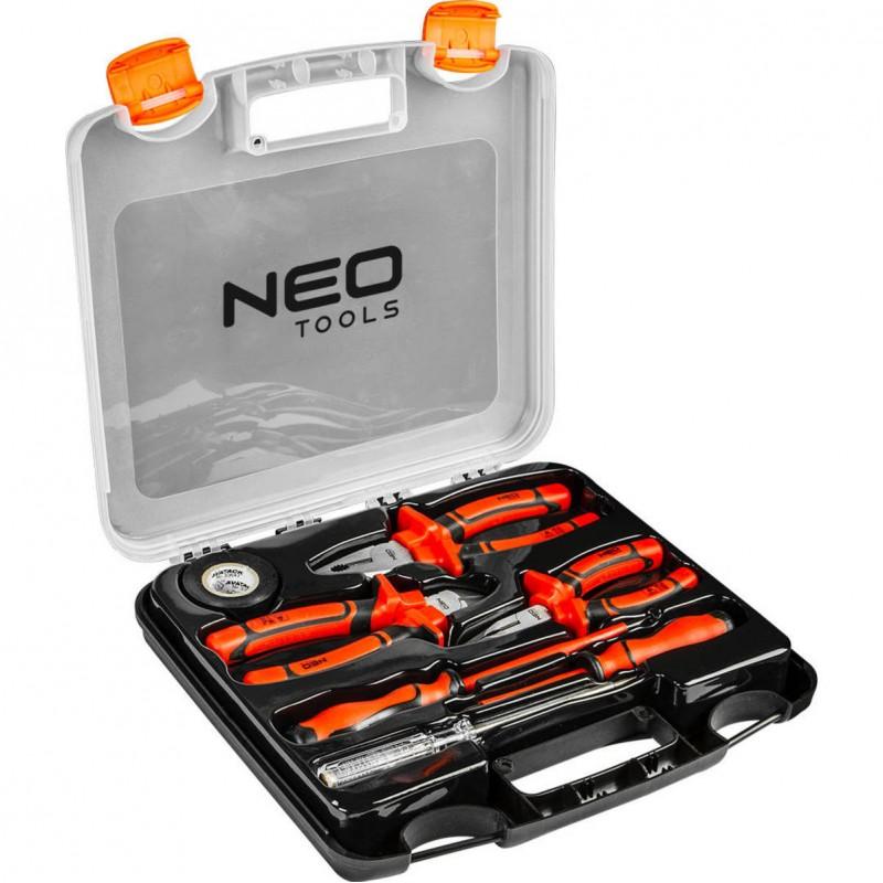 NEO 01-305 Sada klieští a skrutkovačov 1000v, 7 ks