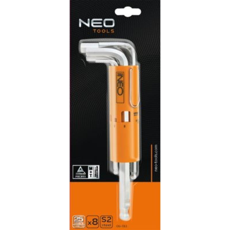 NEO 09-513 Sada imbus 2.5-10mm, 8ks