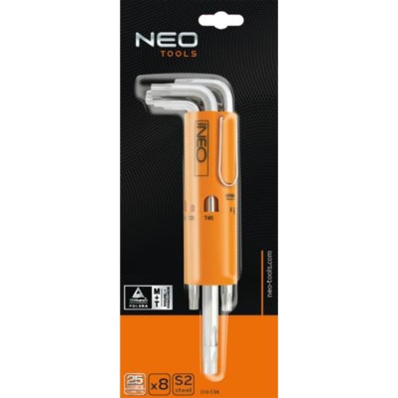 NEO 09-514 Sada torx t10-t50, 8ks