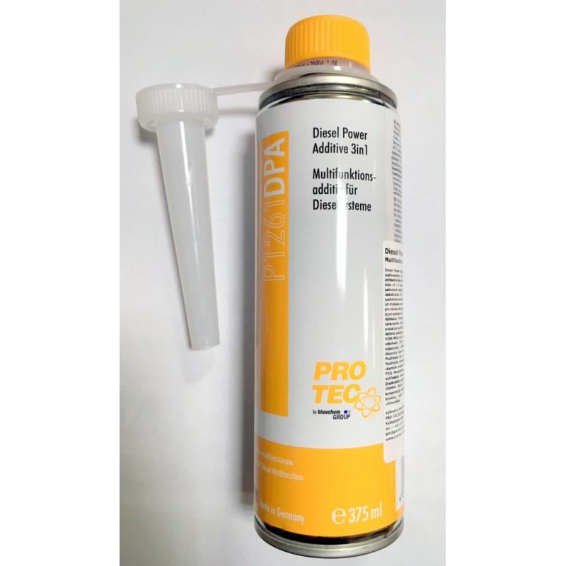 Pro-Tec Diesel Power Additive 3in1 - multifunkčné aditívum diesel 375ml
