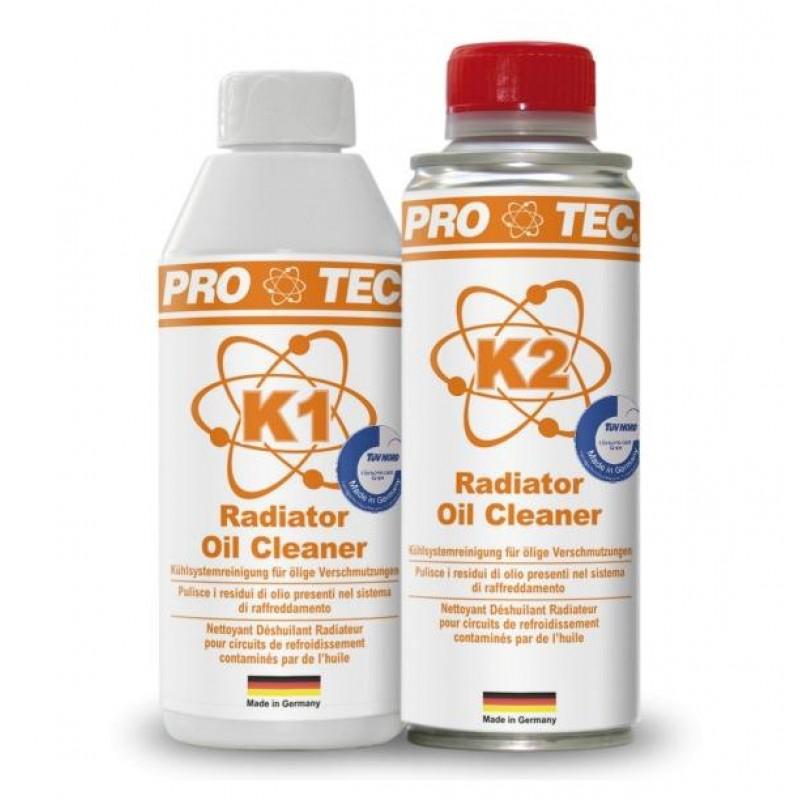 Pro-Tec Radiator Oil Cleaner K1+K2 188ml + 188ml