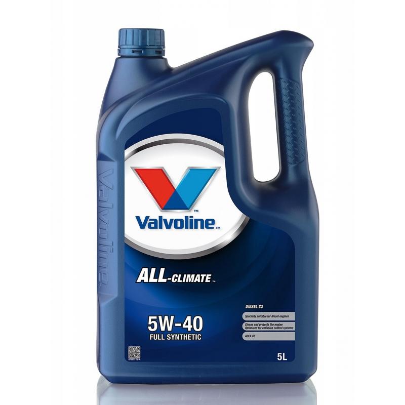 VALVOLINE ALL Climate C3 5W-40 5L