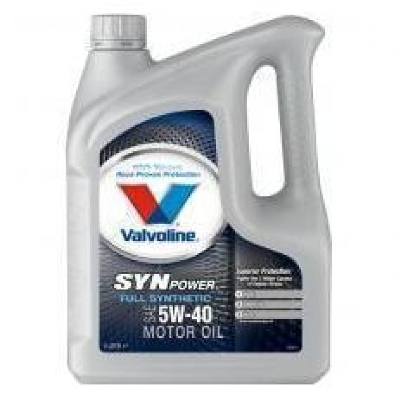 VALVOLINE SYNPOWER 5W-40 4L