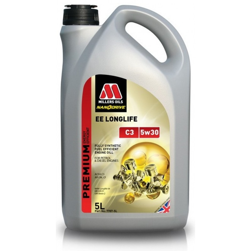 Millers Oils EE Longlife C3 5W-30 Nanodrive 5 L