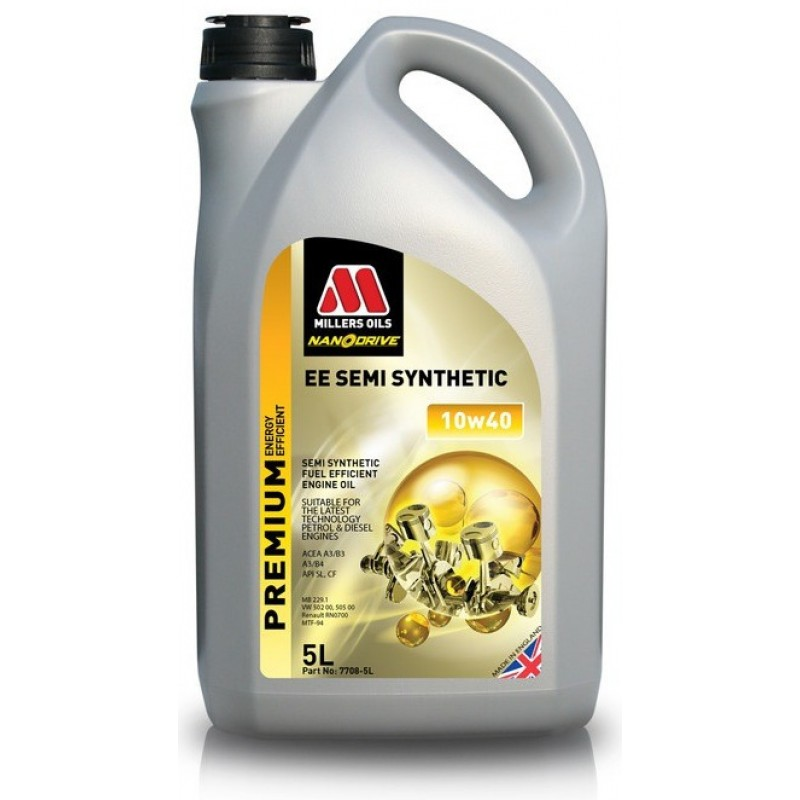Millers Oils Semi Synthetic 10W-40 Nanodrive 5l