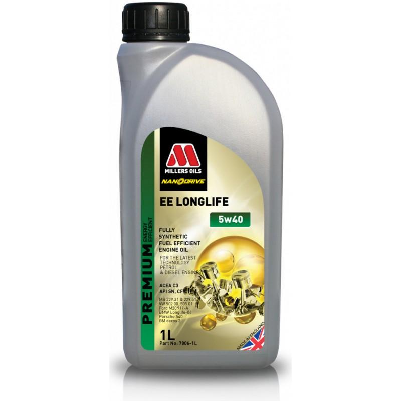 Millers Oils EE Longlife 5W-40 Nanodrive 1l