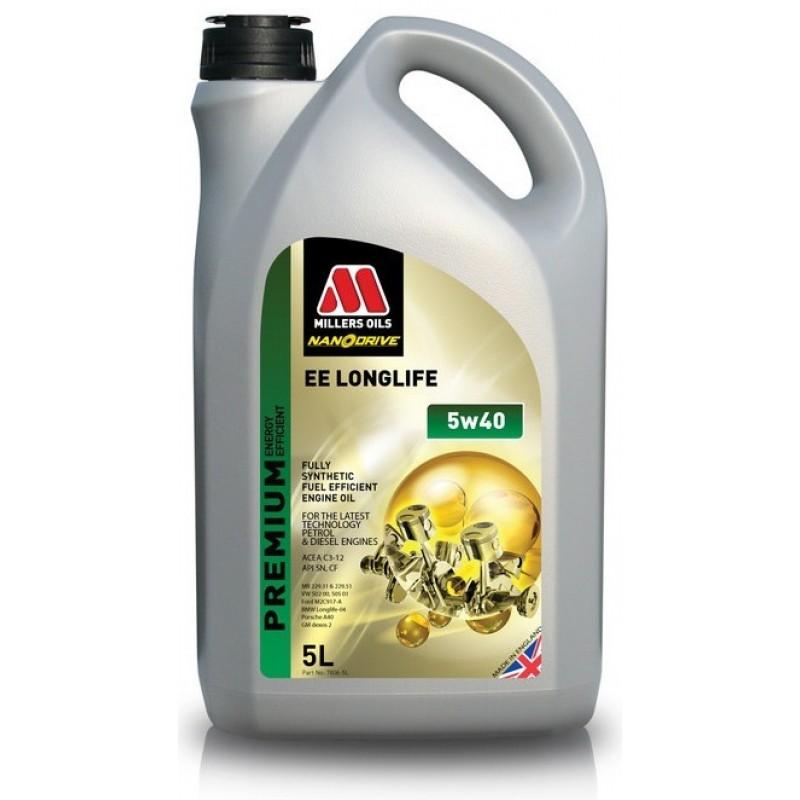 Millers Oils EE Longlife 5W-40 Nanodrive 5l