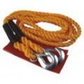 ŤAŽNÉ lano s karabinou do 2500 kg
